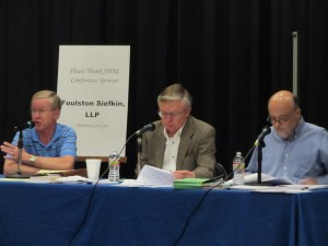 Judge Tom Malone, Chief Judge Richard Green, Judge Michael Buser